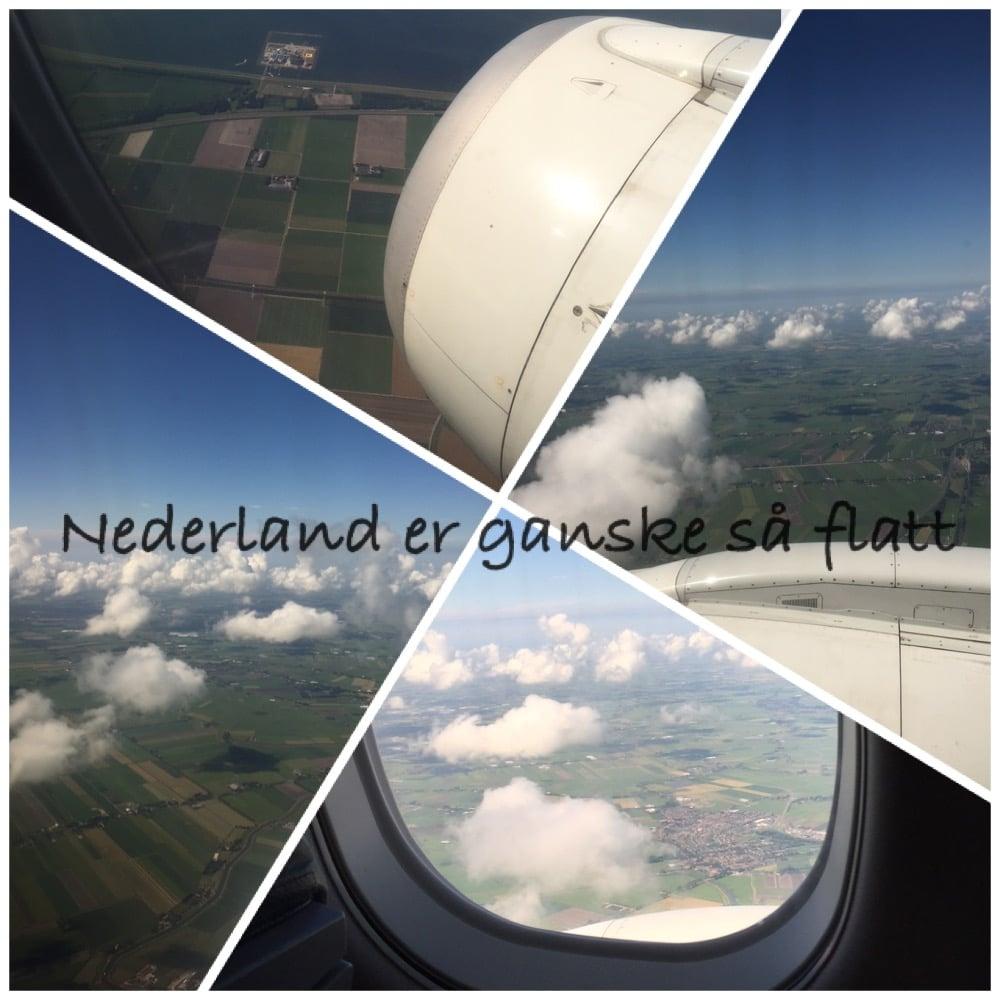 Nederland er flatt