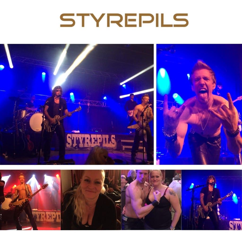 Styrepils