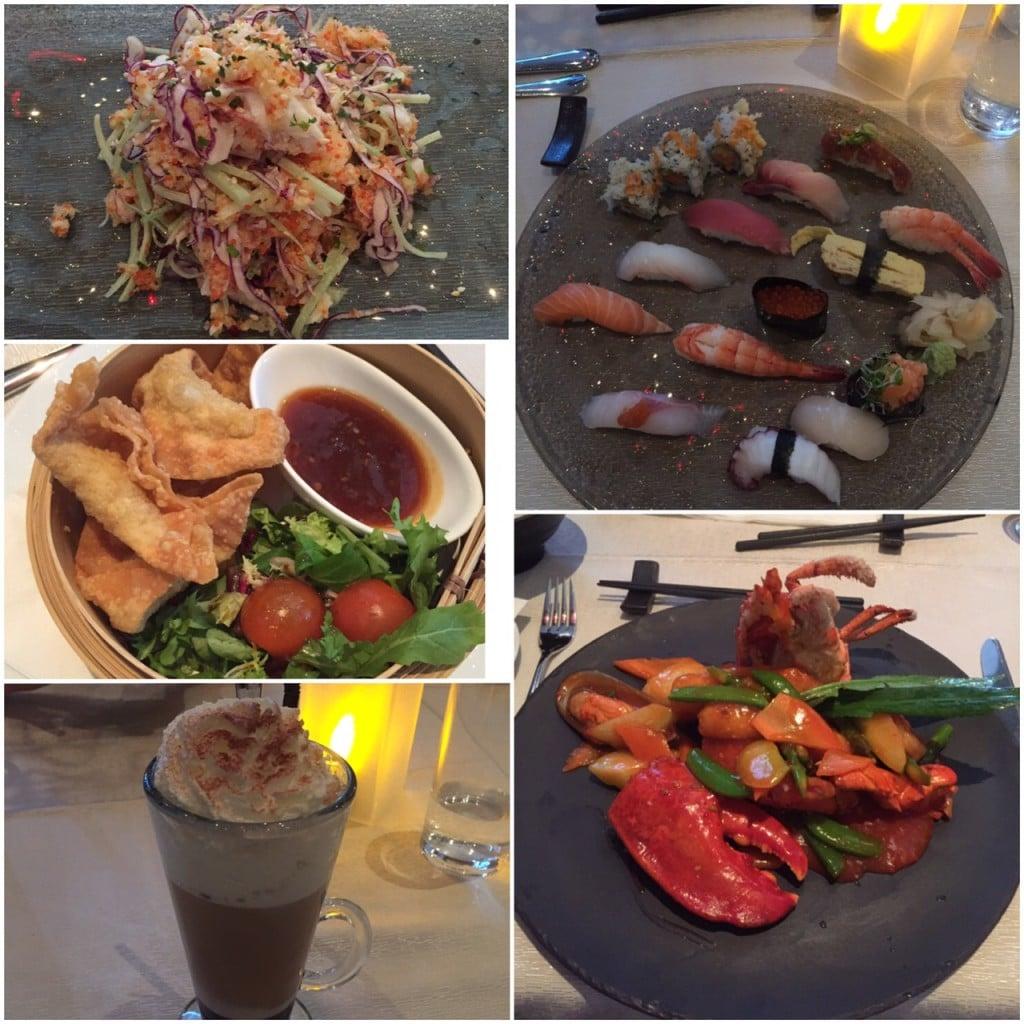 Dobbel date på Chi restaurant Lillestrøm