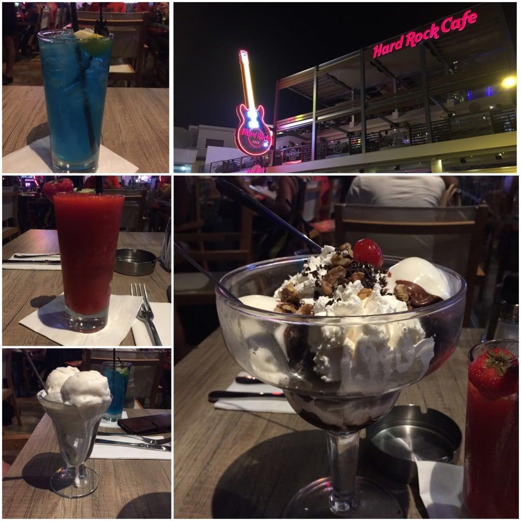 Dessert på Hard Rock Kypros