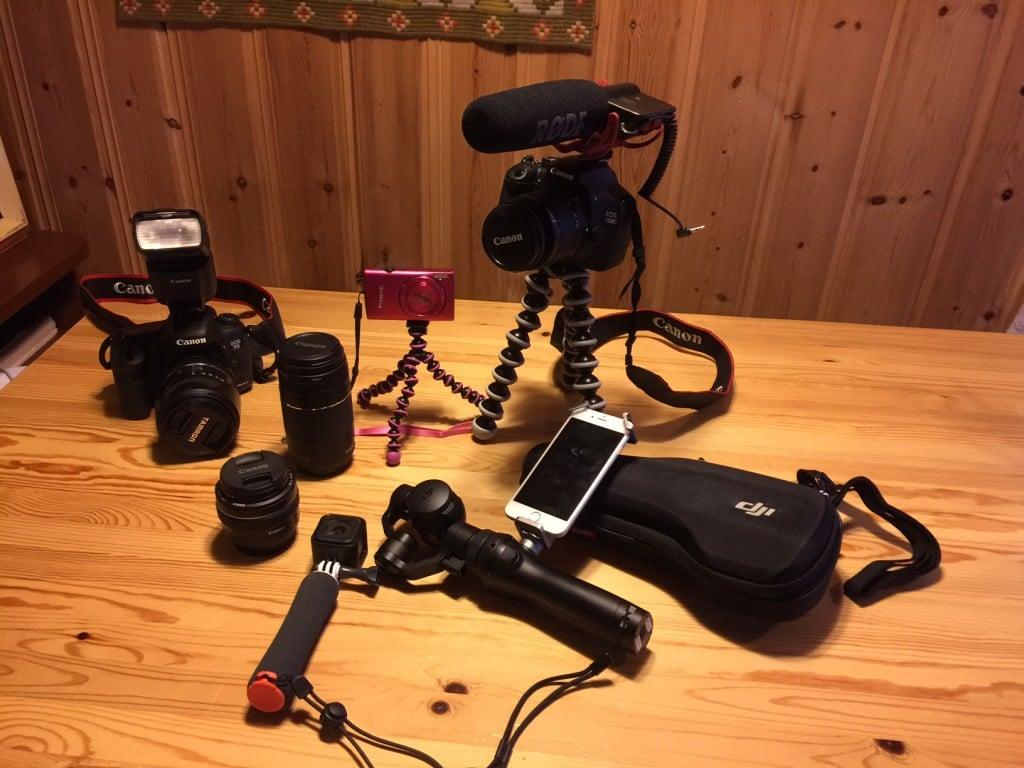 Utstyr for VLOGG