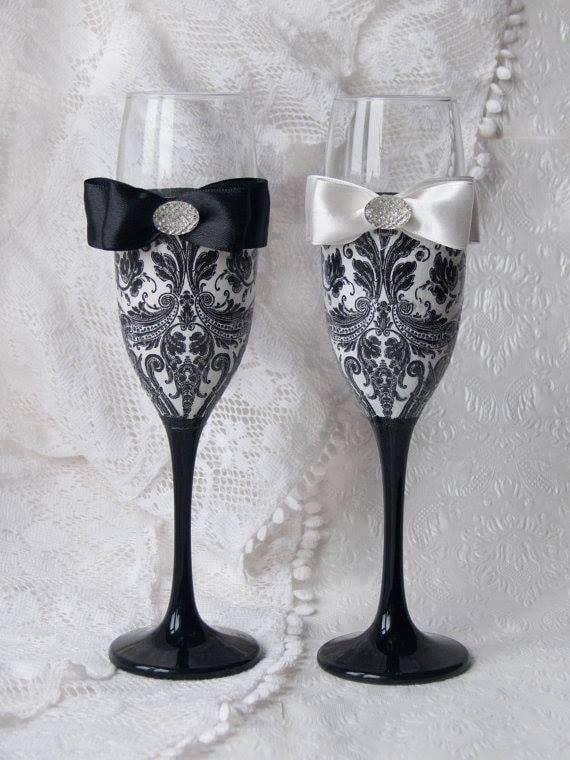 Sensuelle bryllupsglass