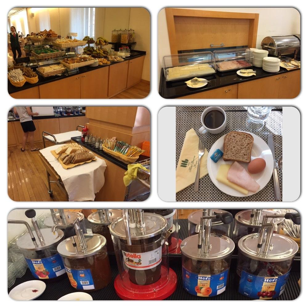 Frokost på Hotel Genova
