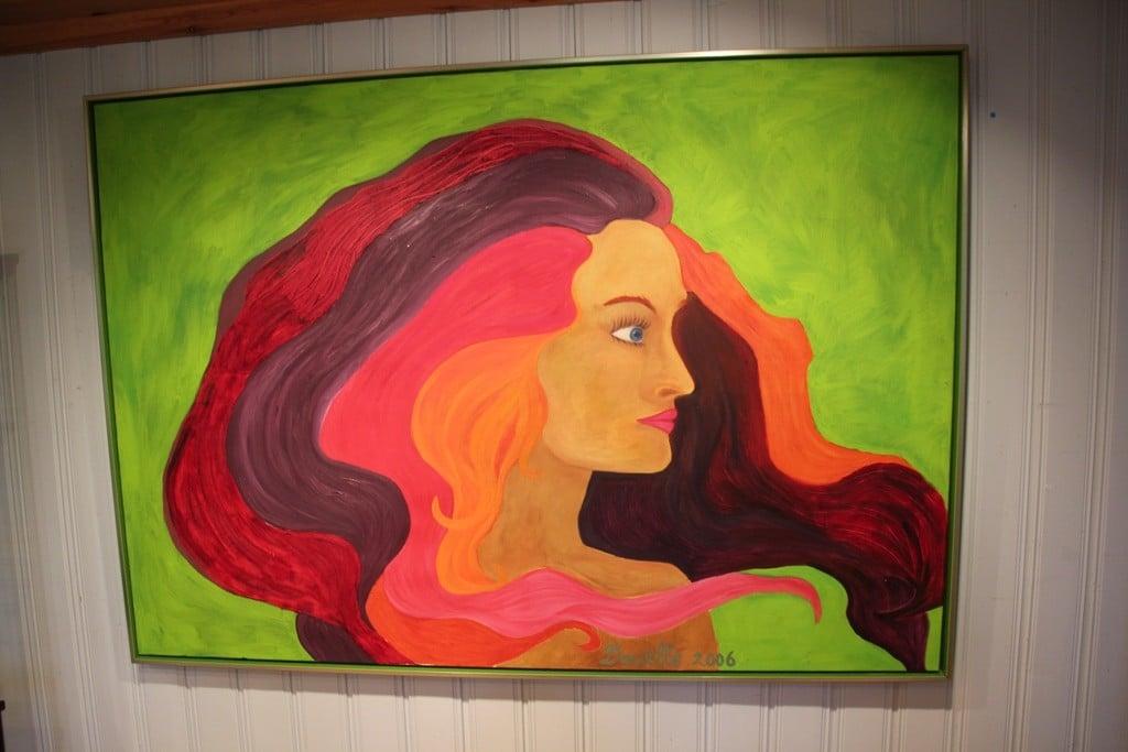 Maleri malt av  Danielle Driehaus-Vos