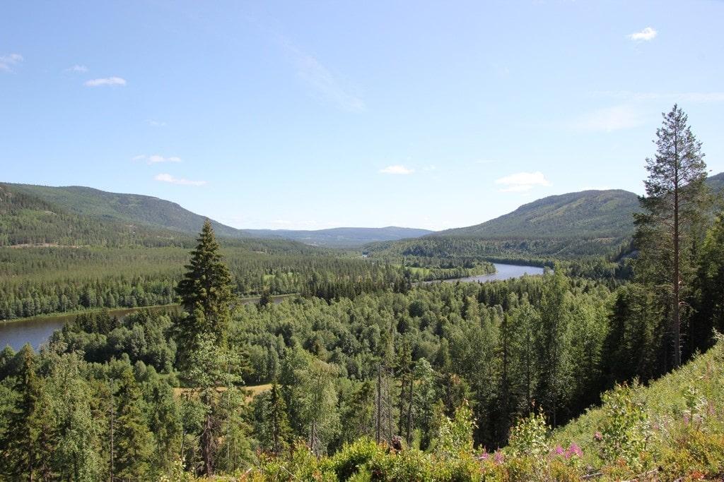 Utkikkspost nær Atna, 1
