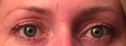 Solblekede øyenbryn, nei takk