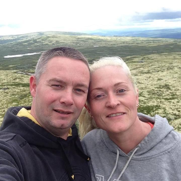 oss på fjellet