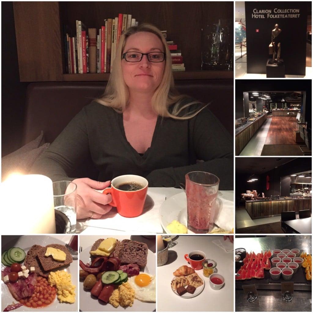 Frokost på Clarion Collection Hotel Folketeateret