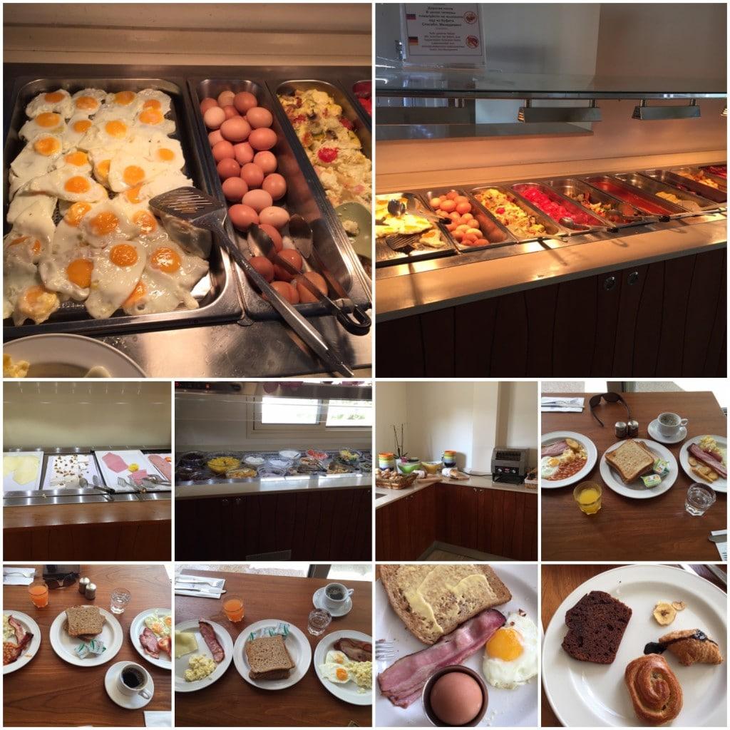 Frokost i Ayia Napa