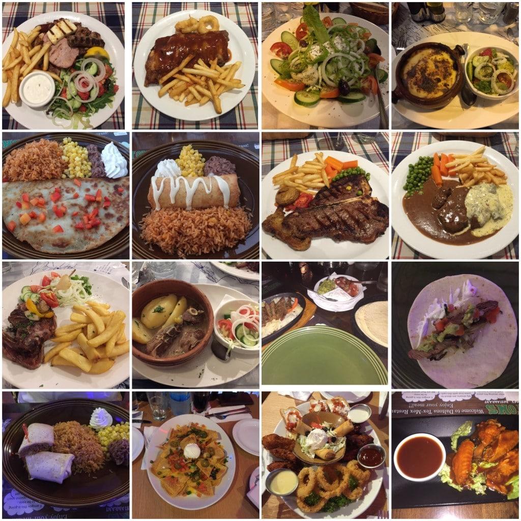 Middag i Ayia Napa